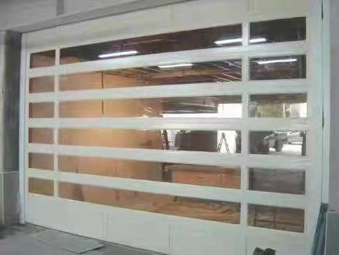 工业提升玻璃透视门
